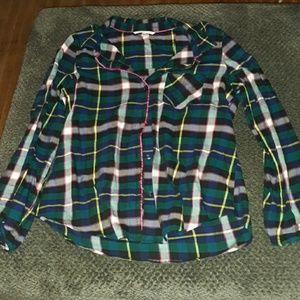 Victoria's Secret flannel shirt! Size medium